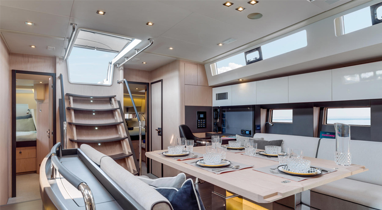 oceanis yacht62galley