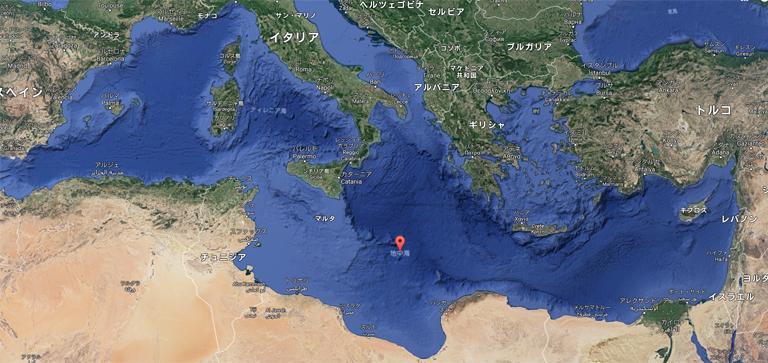 地中海 位置 クルーザー