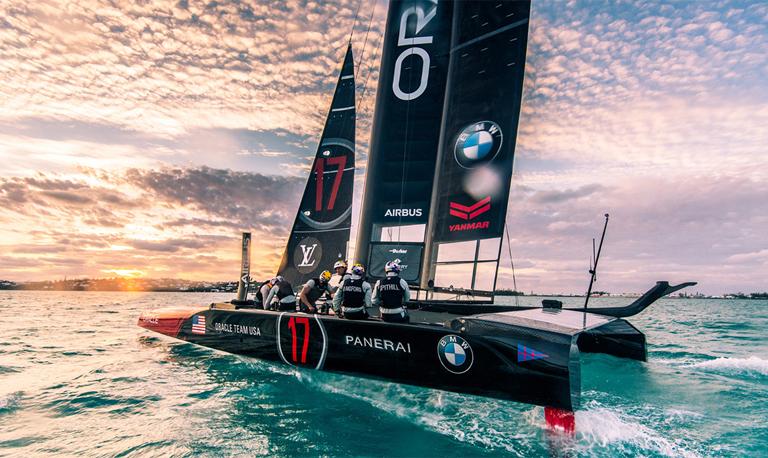 BMWオラクル アメリカズカップ ヨット