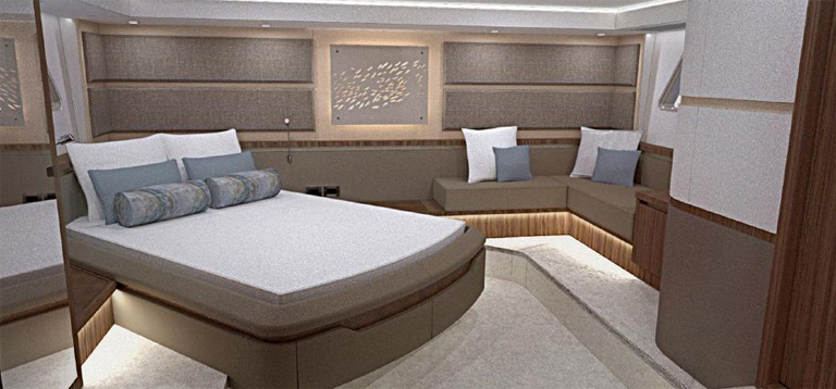 L650ベッドルーム